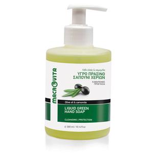 MACROVITA LIQUID GREEN SOAP olive oil & camomile 300ml
