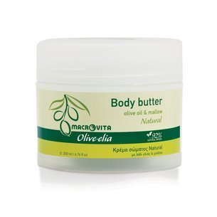 MACROVITA OLIVE-ELIA BODY BUTTER NATURAL olive oil & white tea 200ml