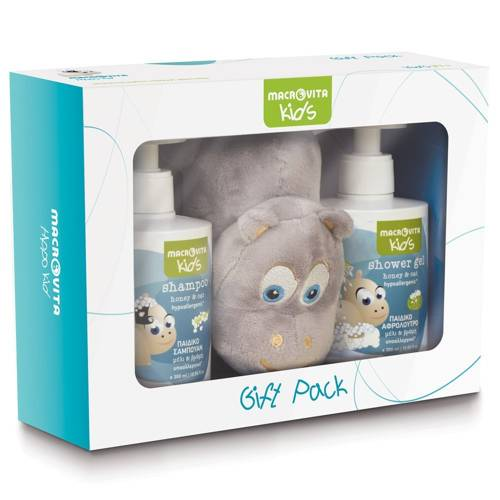MACROVITA BABIES SET: foam bath-shampoo 2in1 300ml + body lotion 150ml + FREE protective cream 100ml