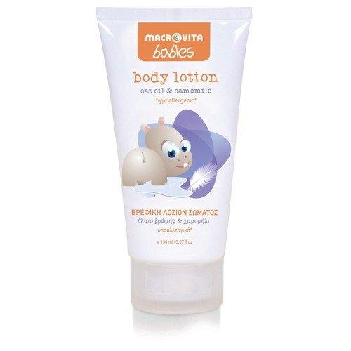 MACROVITA BABIES body lotion oat oil & camomile 150ml
