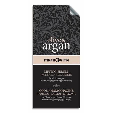 MACROVITA OLIVE & ARGAN LIFTING SERUM face - neck - decolette - all skin types 2ml (sample)