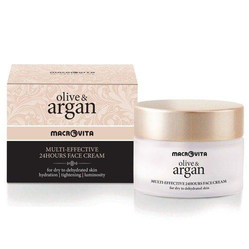 MACROVITA OLIVE & ARGAN MULTI-EFFECTIVE 24HOURS FACE CREAM dry to dehydrated skin 50ml