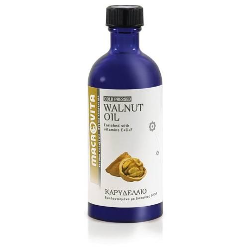 MACROVITA BIO-WALNÜSSEÖL in natürlichen Ölen with vitamin E 100ml