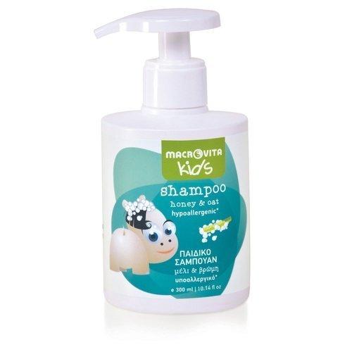 MACROVITA KIDS szampon dla dzieci miód & owies 300ml