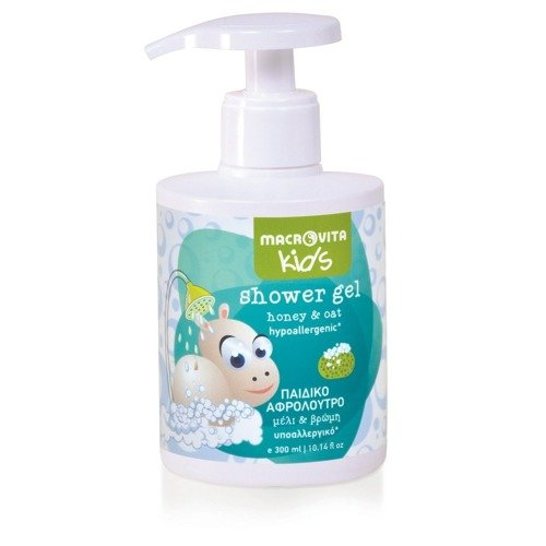 MACROVITA KIDS żel pod prysznic dla dzieci miód & owies 300ml