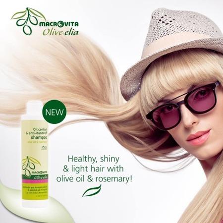 MACROVITA OLIVE-ELIA szampon przeciwłupieżowy z bio-oliwą i rozmarynem 200ml